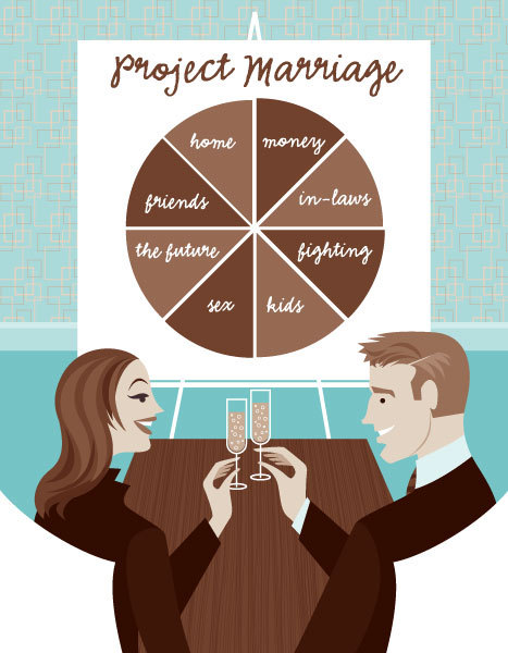 """Project Marriage"" for The Nest Newlywed Handbook: An Owner's Manual for Modern Married Life"