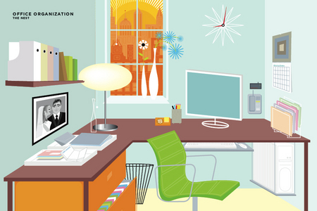 """Modern Home Office"" for The Nest Magazine"