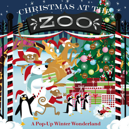 Christmas at the Zoo: A Pop-up Winter Wonderland. Click here to see what pops up!