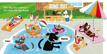 Splish Splash, Dog Bash. Click here to see what pops up!